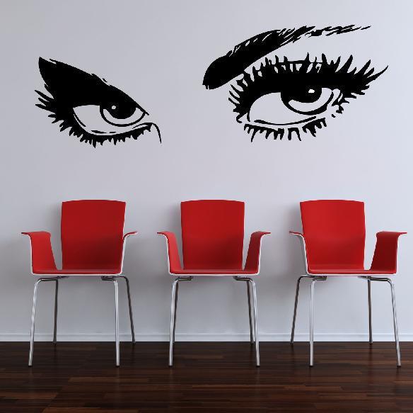 Casa di campagna: stencil da parete grandi