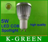 DHL FEDEX UPS TNT EMS free shipping 5W COB led spotlight with led lens