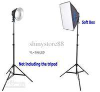 Promaster LED Video light 306pcs LED light Portable Studio Light VL306 VL-306 + Soft box +Lampshade