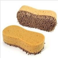 New fashion 1pcs/lot yellow microfiber car wash sponge car care cleaning product