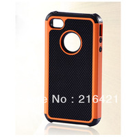 5pcs/lot Armor Shockproof Dual Layer Silicone Back Hard Cover Case Skin for Apple iPhone 5 5G 5th