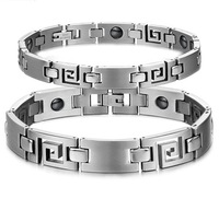 3108 fashion accessories titanium jewelry health care magnet radiation-resistant male Women lovers bracelet