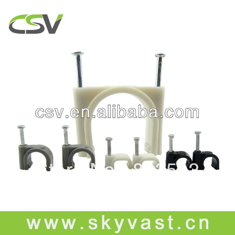 Tower Round Cable Clip