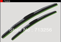 Free Shipping universal Car Wiper Blade,Natural Rubber Car Wiper,Car Accessory/AUTO SOFT WINDSHIELD WIPER 14-26Inch 2pcs/lot