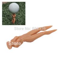 Free Shipping 100pcs Golf Tee Multifunction Nude Lady Divot Tools Tees