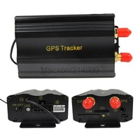 Car GPS tracker TK103B Vehicle Quadband cut off fuel SD card slot TK 103 SMS GPRS Tracking Device