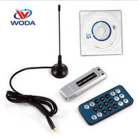 Free Shipping 5pcs/Lot Digital DVB-T HDTV TV Tuner Recorder & Receiver USB 2.0