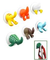 Free Shipping, wholesale coat hat cute animal tail hooks hanger, Fashion coat hat towel hooks hanger rack, wall dector.