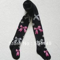 Fashion Design/Ballet girl pattern pantyhose/Baby Girl fashion tights/Cotton pants 6pc/lot