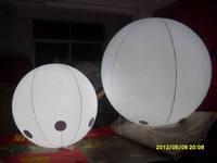 LED light PVC inflatable advertising lighting balloon with free shipping+LED light inside