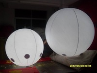 LED light PVC inflatable advertising lighting balloon with free shipping+LED light inside