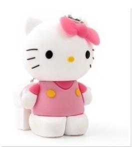 Hello Cool New  cartoon kitty cat  usb memory stick thumb pen drive 4-64 gb