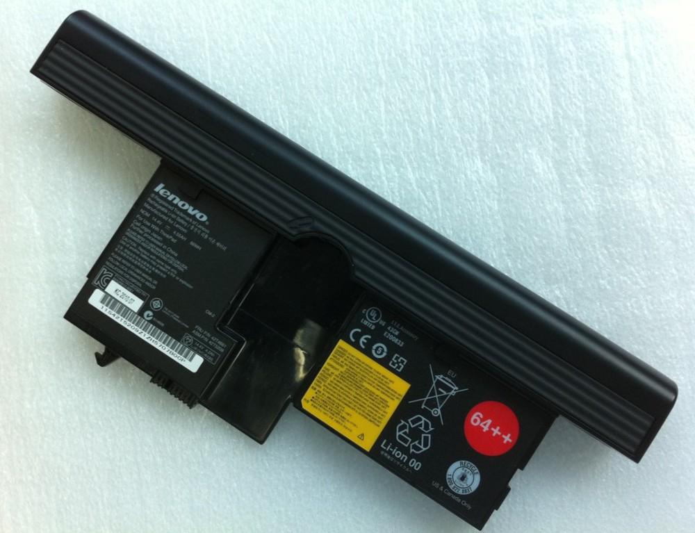 Compatible Lenovo ThinkPad X60 Tablet PC 6366 Laptop Battery 14.8V 8 Cell 5200mAh(China (Mainland))