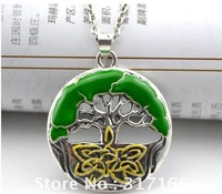 free shipping 5pcs promotional hot sale tree of life pendant necklace fashion jewelry