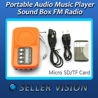 USB Portable Speaker Audio Music Player Sound Box FM Radio SCA-0632