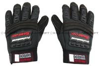 Snap Style Professional Mechanics Gloves GL-12-BK free ship
