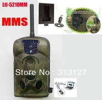 Ltl Acorn 5210M 940nm 12MP MMS GSM infrared hunting animal scouting Trail  Camera external antenna with solar charger+Iron Box