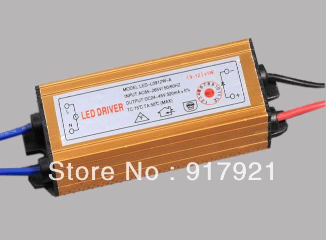 Трансформатор освещения Led driver 1W 9/12 * 1W 85/265v AC + 5