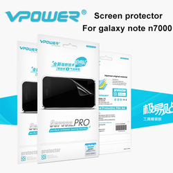 Free shipping Full Body For Samsung Galaxy Note n7000 i9220 screen protector,N7000 lcd Front+Camera,With Retail Package(China (Mainland))