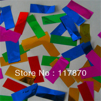 sell confetti paper for confetti cannon /gold party paper/ Aluminum foil confetti/metallic foil streamer