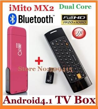 10pcs/lot=5pcs F10+5pcs iMito MX2 Google TV Box RK3066 1G/8G Android 4.1 Dual Core Cotex A9 Quad-Core GPU Bluetooth WiFi HDMI