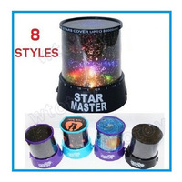 Gifts led Star Projector Lamp night light constellation lover star master