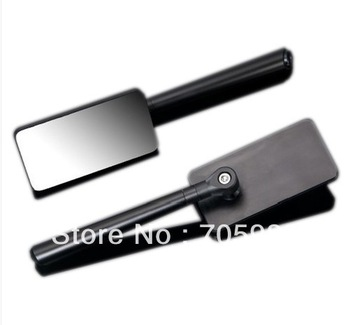 Motorcycle Mirrors Sport Rear view Mirror Black CNC Side Mirrors  Cruiser edge to edge 8mm 10mm
