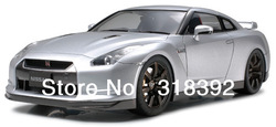 free shipping 2013 new arrival Tamiya 1/24 scale Nissan assembly kit of GT-R 1:24 Model Car 24300(China (Mainland))
