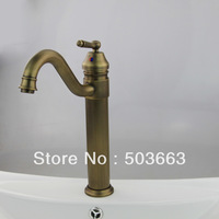 Antique Bronze Finished Basin Faucet Sink Faucet Single Lever Bathroom Mixer L-0161