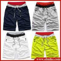 free shipping 2013 summer 6 colors men's Hot trend wild fashion cotton sports pants casual shorts for beach short pant wear C194
