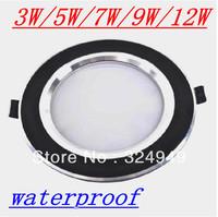 2.5/3.5/4 inch anti-fog led downlight / 3W/5W/7W/9W/12W Ceiling new  Metal Driver 85~265V CE RoHs Approve free shipping