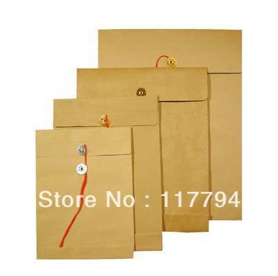 Brown Envelope With Metal