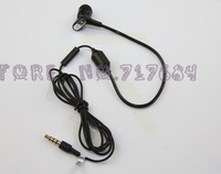 Single Track Air Tube Anti-radiation Earphones for iPhone 5s/5/4s/4,Radiationproof Mono Headsets for Galaxy Note 3/Note 2/s4/s3