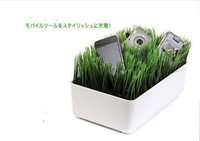 Free shipping Wholesale Creative lawn plastic Cable box Cable wire storage box 27.5*16*9.5cm
