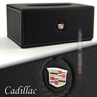 Free shipping Luxury Cortical Cadillac SLS/CTS/SRX/BLS/XLR Car Tissue Box Christmas