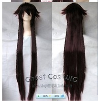 Pandora Hearts Long 135cm straight Party Wig Full Copsly Costume Wigs
