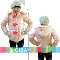 Fashion Designer Girls Winter Puffer Coat Warm Jackets,Free Shipping K0254