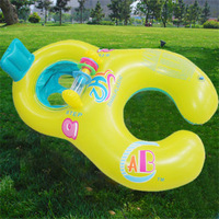 Retailing Min.order is $15 (mix order)  ZH-1564 Safe Swimming Ring for Baby Bath Neck Float mother-child play swimming ring