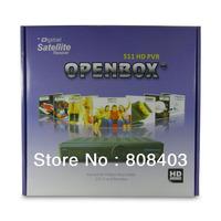 Openbox S11 Original HD PVR digital satellite TV receiver Open Box S11Support Wifi Bridge MGcamd Cccamd Servers Free shipping