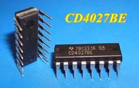 Free Shipping 30pcs/lot  CD4027 4027 CD4027BE 4000 CMOS Dual J-K Master/Slave Flip-Flop DIP-16