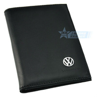 Leather Cowhide Volkswagen PassportBag Passport Jacket Passport Folder Holder