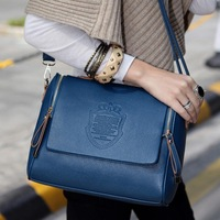Free Shipping New Arrival Bag Women&#39;s Handbags fashion vintage one shoulder women&#39;s Messenger bag(Black+Blue+Red+Beige)130111#4