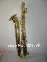 gold lacquer baritone saxophone HSL-5001