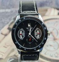 2014 Fashion Men Leather Watches Auto Mechanical Watch Sport Men's Wristwatch Valentine's Day Gift Free Ship