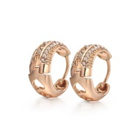 Women  Earrings, Wholesale Fashion jewelry, Factory price, free shipping ,18K Gold plated Earrings, Top quality  KE21