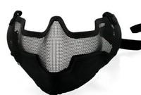 TMC Strike Steel Half Face Mask (Black) [MK-16]