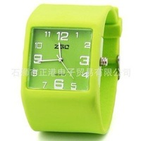 Free shipping !50pcs/lot ,fashion jelly watch, colorful choose 100% silicone jelly watch, Quartz watches,high quality