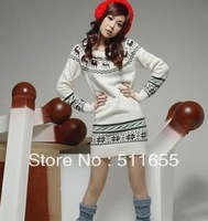 Promotion + free shipping Han's coat collar package hip backing a sweater female