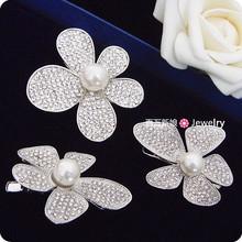 Elegant pearl rhinestone the bride hair accessory hair accessory set marriage accessories
