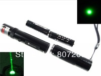 Green Powerful Laser Pointer Pen 200mw  2x AAA batteries,burn match,532nm,EK brand